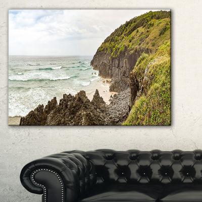 Designart Crescent Head Coastline In Australia Landscape Artwork Canvas