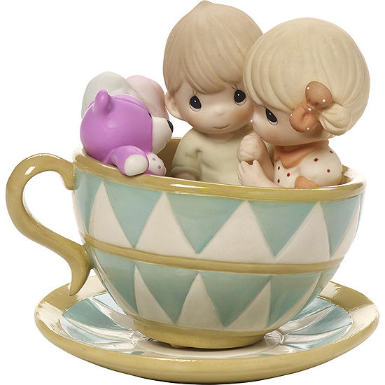 """Precious Moments   """"You Can Always Hold On To Me""""  Bisque Porcelain Figurine  #171036"""