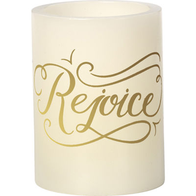 "Precious Moments  ""Rejoice""  Flameless Candle#171405"
