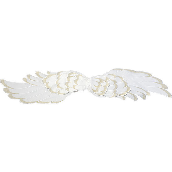 """Precious Moments  """"Angel Wings""""  Polyester Table Runner  #171402"""