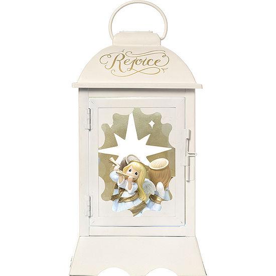"Precious Moments  ""Angelic Lantern""  Lighted Musical Resin/Metal Lantern  #171108"