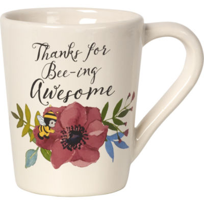 "Precious Moments  ""Thanks For Bee-ing Awesome""Ceramic Mug  #171492"
