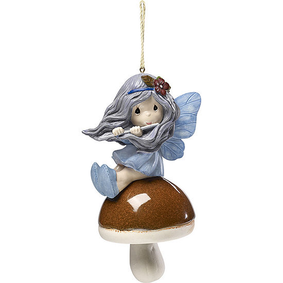 """Precious Moments  """"Garden Delights Forest Fairy Hanging Bell  Ceramic/Resin  #171457"""