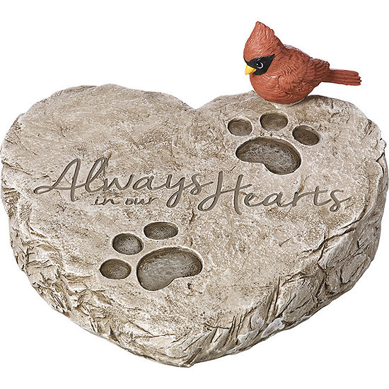"Precious Moments  ""Always In Our Hearts""  Garden Stone  Resin  #171460"