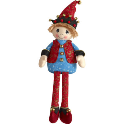 "Precious Moments  ""Elf""  Fabric Shelf Sitter#171416"