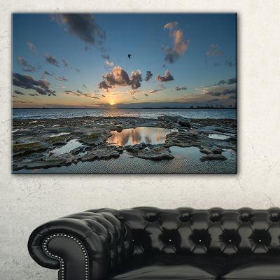 Designart Sunset At La Perouse Sydney Canvas Art