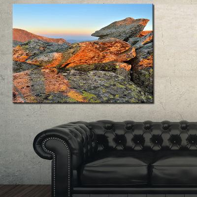 Designart Tatra Mountains Peak 3-pc. Canvas Art