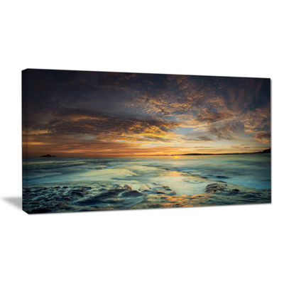 Designart The Tanah Lot Temple In Bali Island Canvas Art