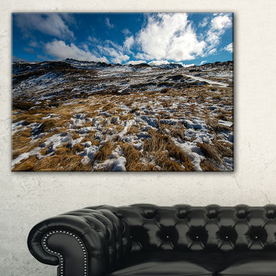 Designart Top Of Kosciuszko National Park Canvas Art