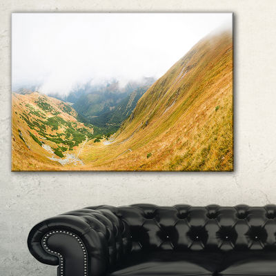 Designart View From Volovec At Tatras Canvas Art