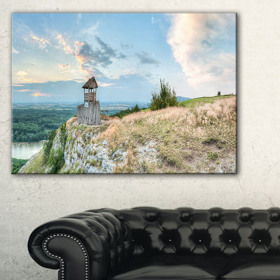 Designart View Tower On Hill Panorama Canvas Art
