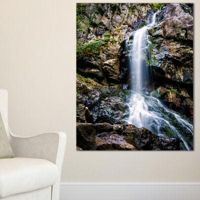 Designart Waterfall In Sofia Bulgaria Canvas Art