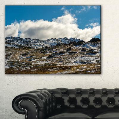 Designart Wide View Of Kosciuszko National Park Canvas Art