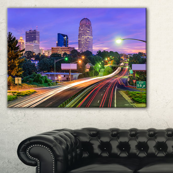 Designart Winston Salem North Carolina Canvas Art