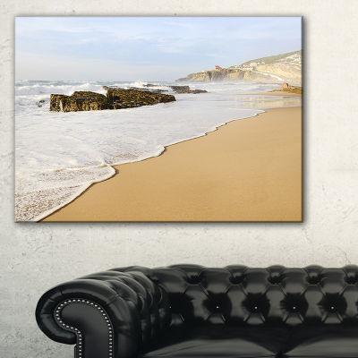 Designart Magoito Beach Portugal Canvas Art
