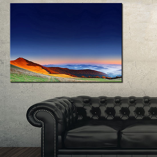 Designart Majestic And Colorful Sunrise Canvas Art