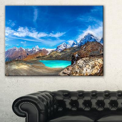 Designart Enchanting Swiss Alps Mountains Canvas Art
