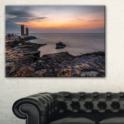 Designart Gate To Africa Seashore In Mahdia Canvas Art