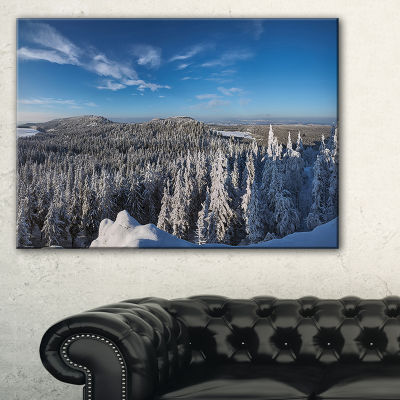 Designart Gory Stolowe From Szczeliniec Mountains Canvas Art