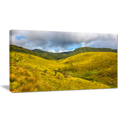 Designart Green Everywhere Horton Plains Canvas Art