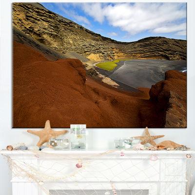 Designart In El Golfo Lanzarote Spain Musk Pond Canvas Art