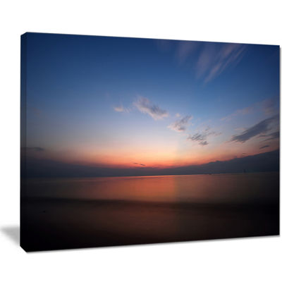 Designart Ko Samui Sea Sunrise Panorama Canvas Art