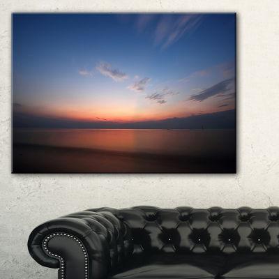 Designart Ko Samui Sea Sunrise Panorama Canvas Art