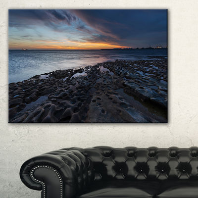 Designart La Perouse Beach Sydney Canvas Art
