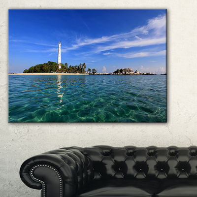 Designart Lengkuas Island Indonesia Canvas Art