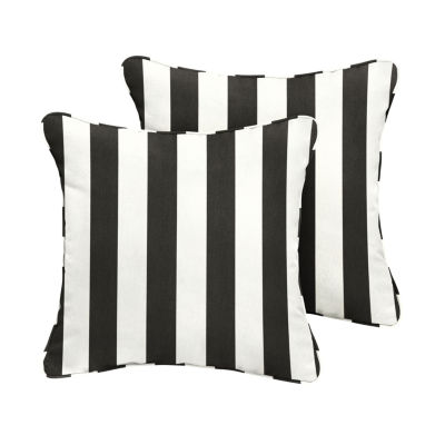 2-pc. Cabana Sunbrella Corded Indoor/Outdoor Accent Pillows