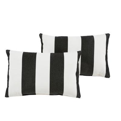 2-pc. Cabana Sunbrella Knife Edge Indoor/Outdoor Lumbar Pillows