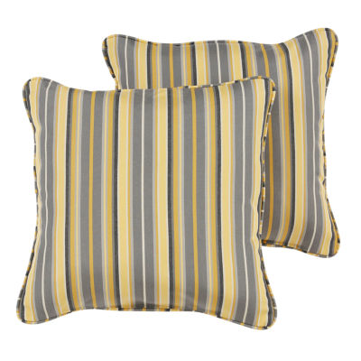 2-pc. Gable Sunbrella Corded Indoor/Outdoor Accent Pillows