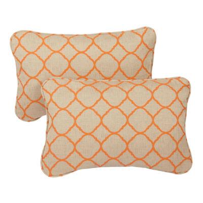 2-pc. Sterling Sunbrella Corded Indoor/Outdoor Lumbar Pillows