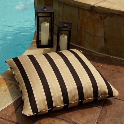 Gable Sunbrella Corded Indoor/Outdoor Floor Pillow