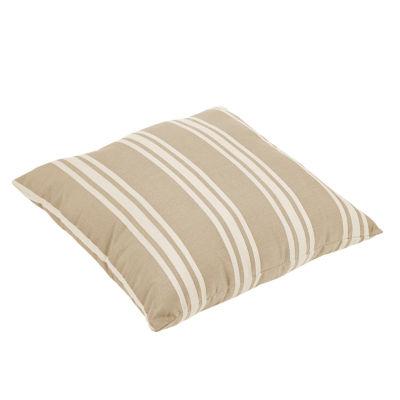 Gable Sunbrella Knife Edge Indoor/Outdoor Floor Pillow