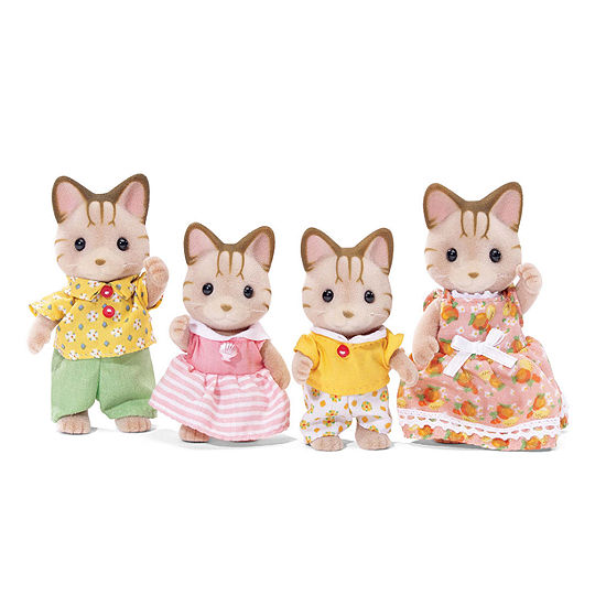 Calico Critters Sandy Cat Family