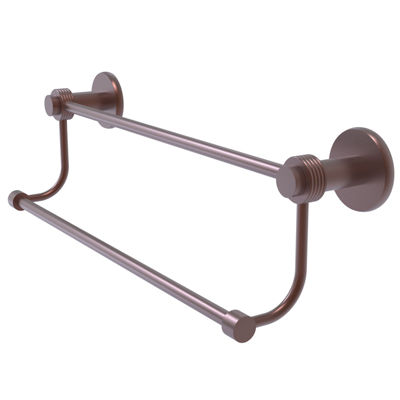 Allied Brass Sag Harbor Collection 36 Inch Towel Bar With Integrated Hooks