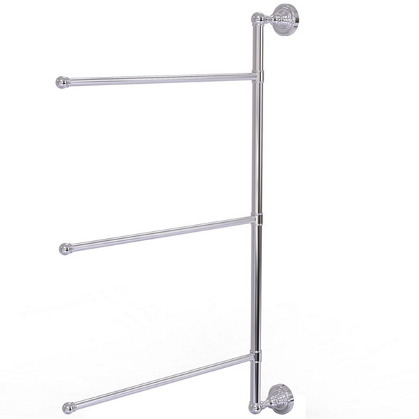 Dottingham Collection 3 Swing Arm Vertical 28 InchTowel Bar