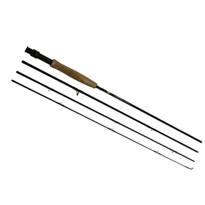"Fenwick Hmg Fly Rod - 7'6"" Length- 4 Piece Rod- 3Wt Line Rating- Fky Power- Medium/Fast Action"""