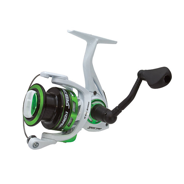 "Lews Fishing Mach 1 Speed Spin Series Reel 32"" Ipt- 6.2:1 Gear Ratio- 9+1 Bearings"