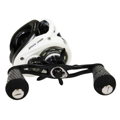 Lews Fishing Custom Speed Spool Msb Casting Reel 7.5:1 Gear Ratio- 10 Bearings- 14 Lb Max Drag- Right Hand