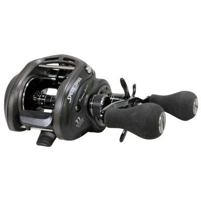 "Lews Fishing Superduty Wide Speed Spool Casting Reel 6.4:1 Gear Ratio- 11 Bearings- 28"" Retrieve Rate- 14 Lb Max Drag- Right Hand"""