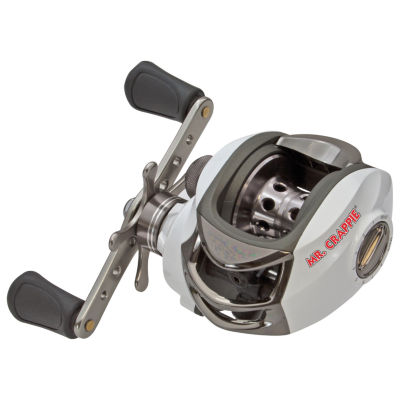 Lews Fishing Mr.Crappie Slab Daddy Baitcast Reel 6.3:1 Gear Ratio- 10 Lb 175 Yards Line Capacity- Boxed