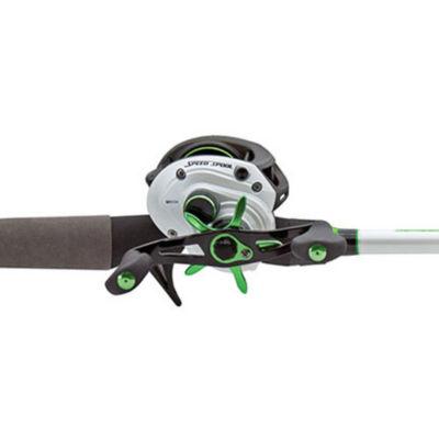 "Lews Fishing Mach 1 Speed Spool Baitcast Combo 6'10"" Length  7.1:1 Gear Ratio  9+1 Bearings  Medium/Heavy Power  Left Hand"