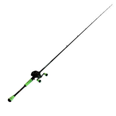 Lews Fishing Mach Ii Baitcast Combo 7.5:1 Gear Ratio  7' Length  1 Piece Rod  Medium/Heavy Power