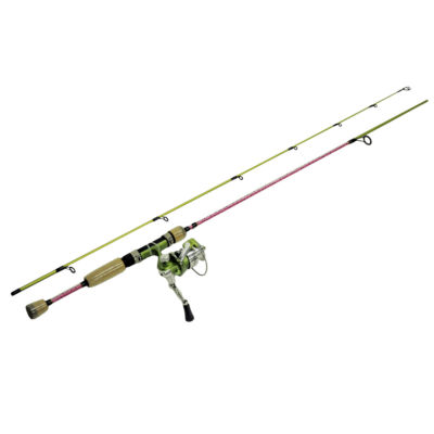 Eagle Claw Fish Skins Rainbow Trout Combo - 6'  2Pc Rod  5.2:1 Gear Ratio  Light Power