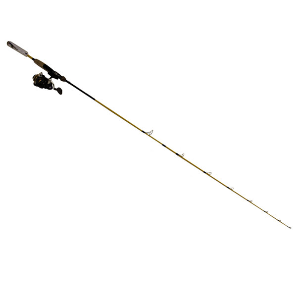 "Eagle Claw Powerlght Spinning Combo - 6'6"" Length2 Piece Rod  4-10 Lb Line Rate  1/16-3/8 Oz LureRate"""