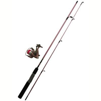 """Zebco/Quantum Ladies Spinning Combo 20SZ 5'6"""" Length W/Tackle"""