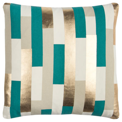 Rachel Kate By Rizzy Home Liam Stripe Pattern Filled Pillow