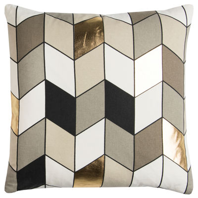 Rachel Kate By Rizzy Home Michael Geometric Pattern Filled Pillow